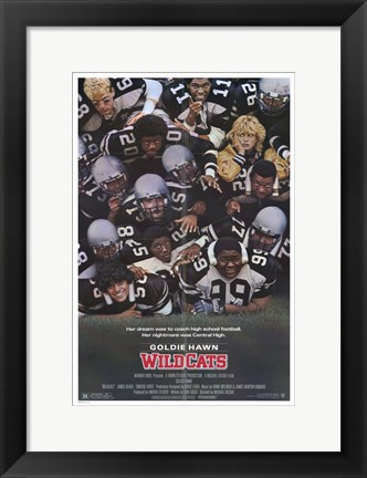 Framed Wildcats Print