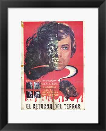 Framed Return of the Terror Print