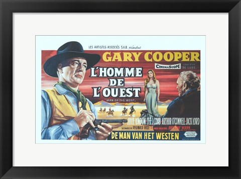 Framed Man of the West Print