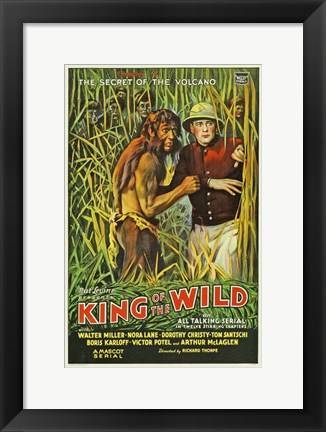 Framed King of the Wild - Chapter 4 Print