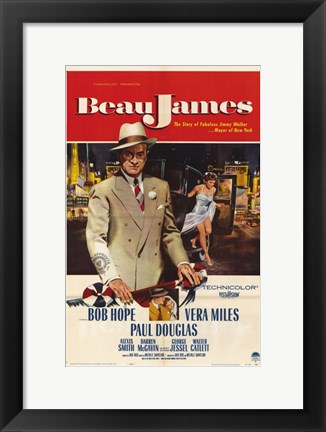 Framed Beau James Print