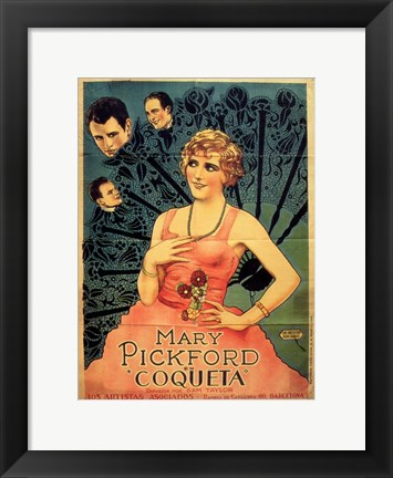 Framed Coquette Print