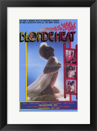 Framed Blonde Heat Print