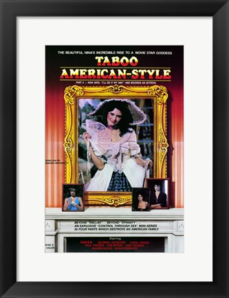 Framed Taboo American-Style 3: Nina Becomes an Actress Print