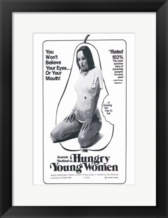 Framed Hungry Young Women Print