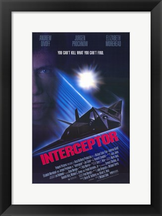 Framed Interceptor Print