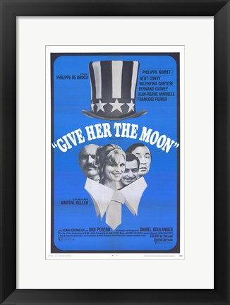 Framed Give Her the Moon Print