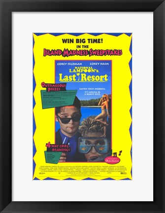 Framed National Lampoon's Last Resort Print