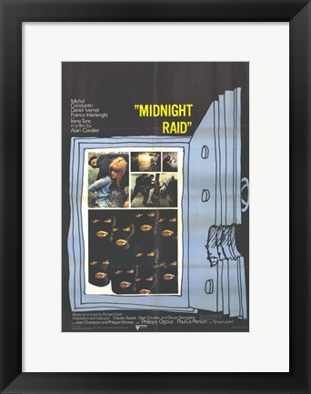 Framed Midnight Raid Print
