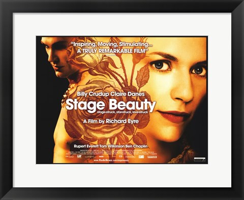 Framed Stage Beauty Print