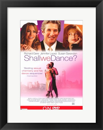 Framed Shall We Dance? Print