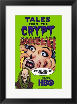 Framed Tales From the Crypt HBO Print