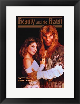 Framed Beauty and the Beast (TV) Print