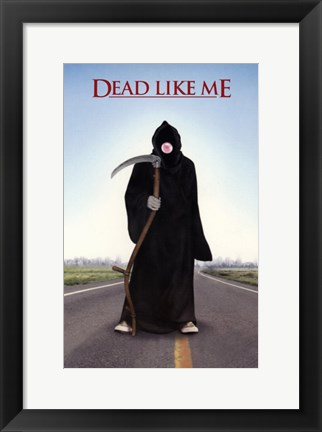 Framed Dead Like Me Bubble Gum Print
