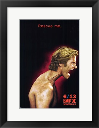 Framed Rescue Me Screaming FX Print