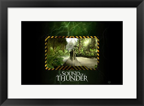 Framed Sound of Thunder Print
