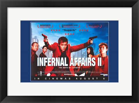 Framed Infernal Affairs 2 Print