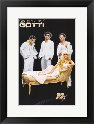 Framed Growing Up Gotti Print