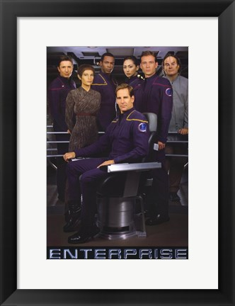 Framed Star Trek: Enterprise Print