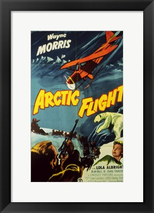 Framed Arctic Flight Print