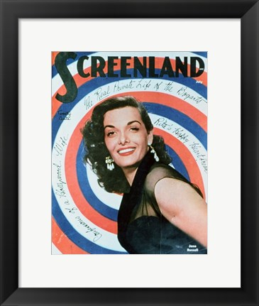Framed Jane Russell Print