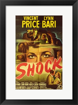 Framed Shock Print