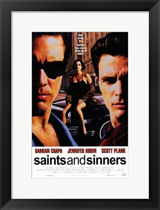 Framed Saints and Sinners Print