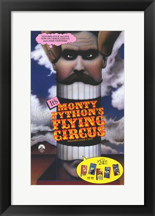 Framed Monty Python's Flying Circus Print