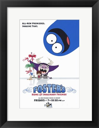 Framed Foster's Home for Imaginary Friends Print