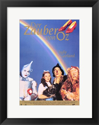 Framed Wizard of Oz Print