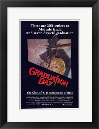 Framed Graduation Day Print