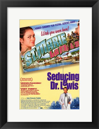 Framed Seducing Doctor Lewis Print