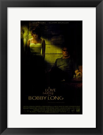 Framed Love Song for Bobby Long Print