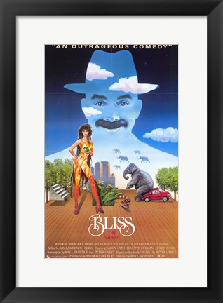 Framed Bliss Print
