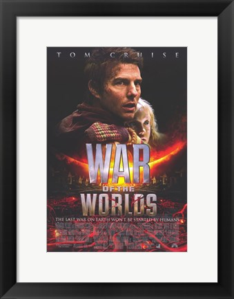 Framed War of the Worlds Tom Cruise Print