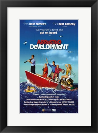 Framed Arrested Development TV Series Print