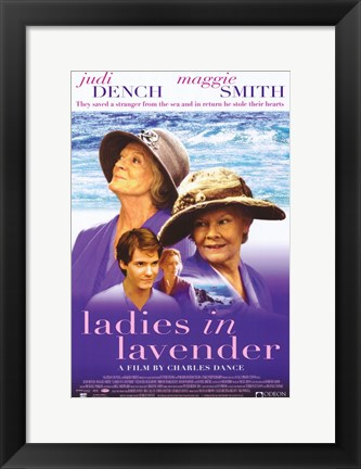 Framed Ladies in Lavender Print