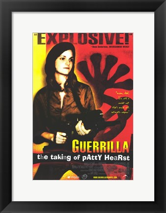 Framed Guerrilla: The Taking of Patty Hearst Print