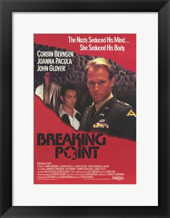Framed Breaking Point Print