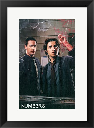 Framed Numb3rs Print