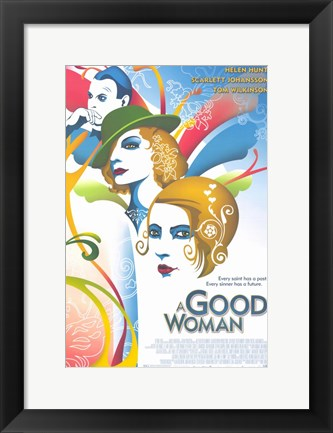 Framed Good Woman Print