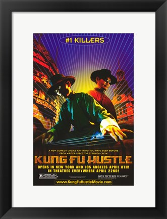 Framed Kung Fu Hustle #1 Killers Print