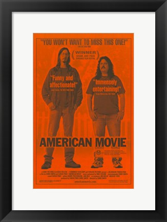 Framed American Movie: The Making of Northwestern Print
