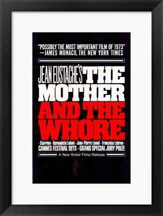 Framed Mother and the Whore Print