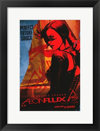 Framed Aeon Flux - Perfect Future Shock Print