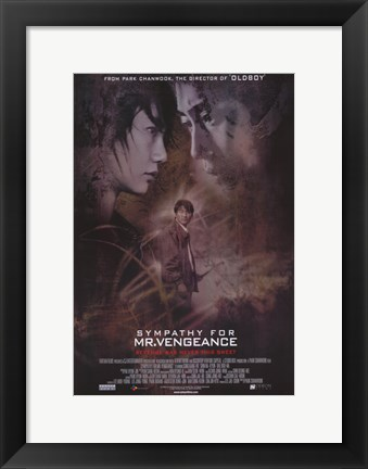 Framed Sympathy for Mr. Vengeance Print