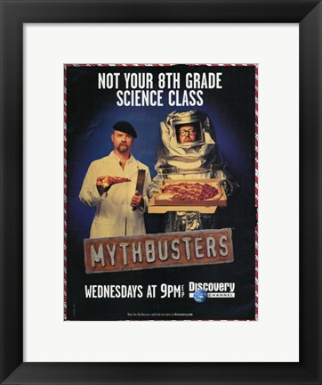 Framed MythBusters Print