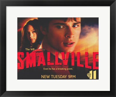 Framed Smallville - style H Print