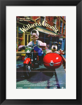 Framed Wallace & Gromit: The Best of Aardman Animation Print