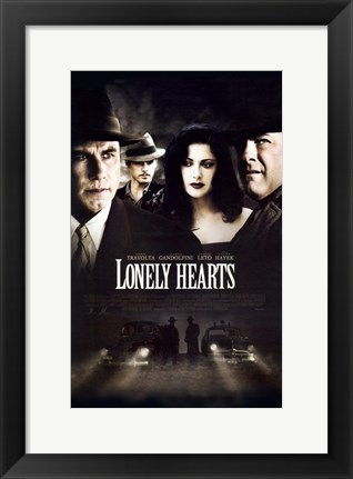 Framed Lonely Hearts Print